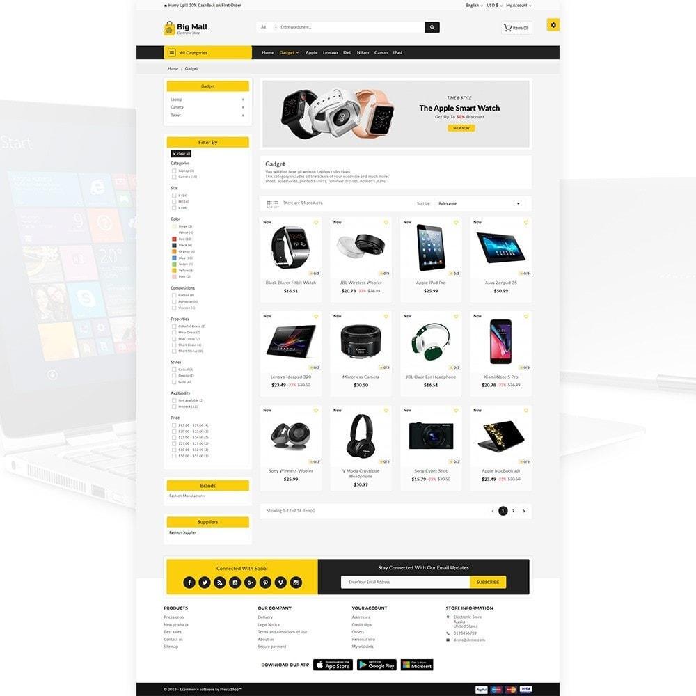 theme - Electronics & Computers - Big Mall – The Electronic Shop - 3
