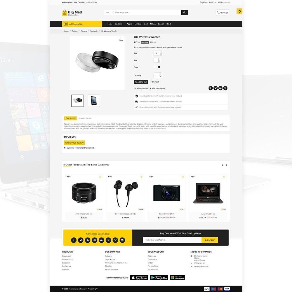 theme - Electronics & Computers - Big Mall – The Electronic Shop - 4