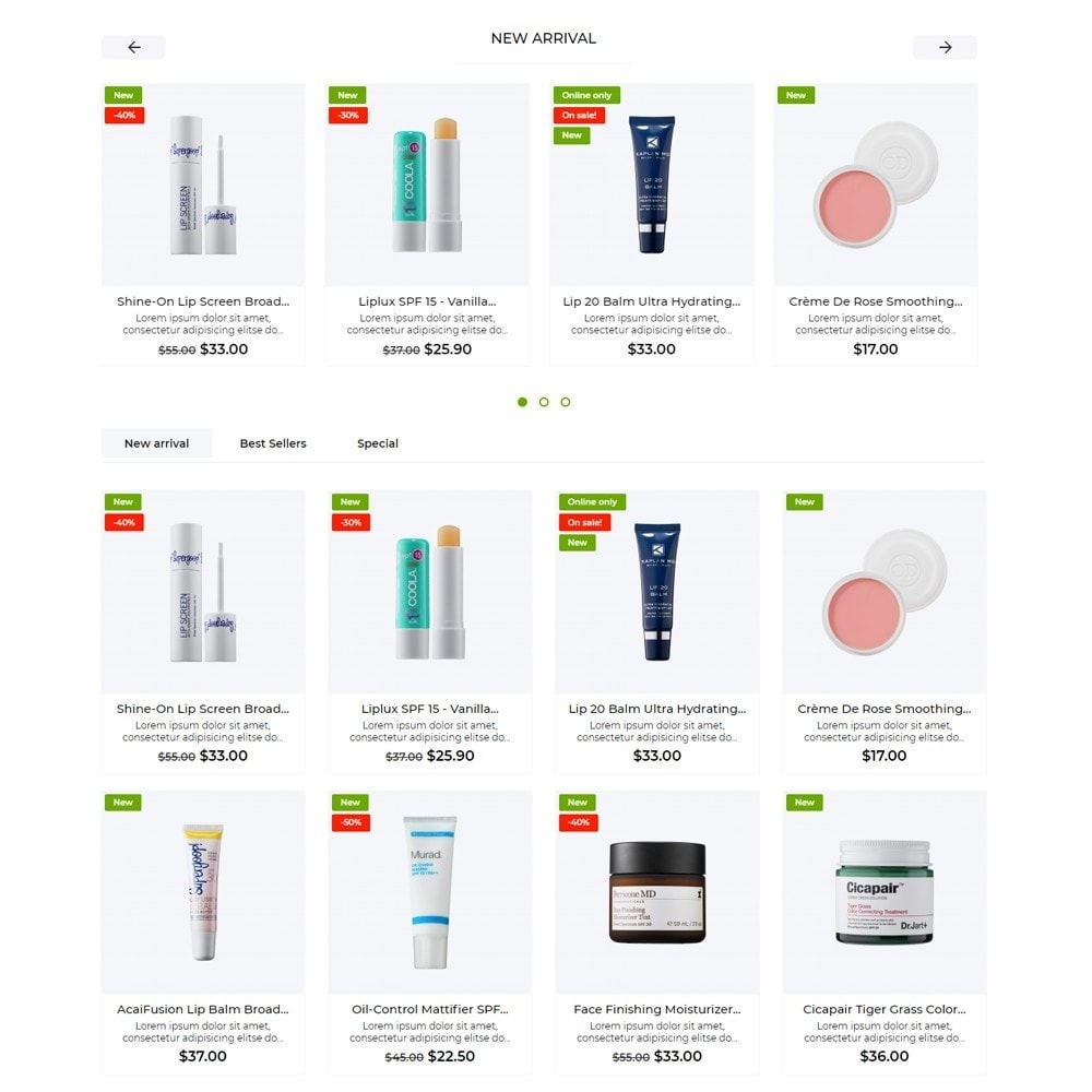 theme - Health & Beauty - Hamma Cosmetics - 3