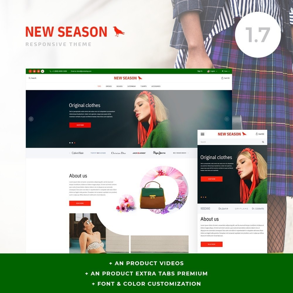 theme - Fashion & Shoes - NewSeason Fashion Store - 1