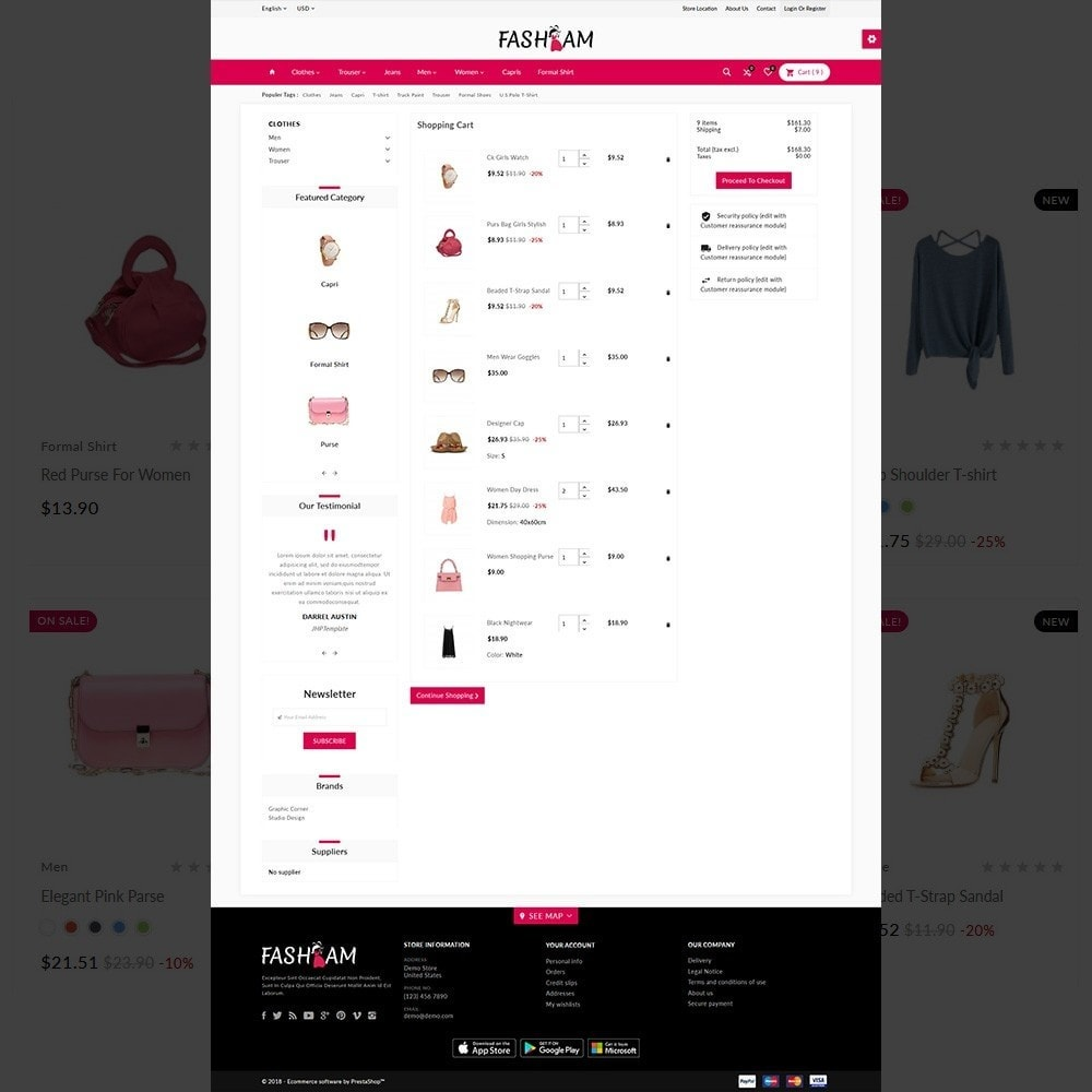theme - Fashion & Shoes - The Style –Fashion Store - 4