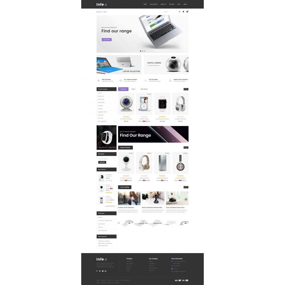 theme - Электроника и компьютеры - Infex - Electronic Store - 2
