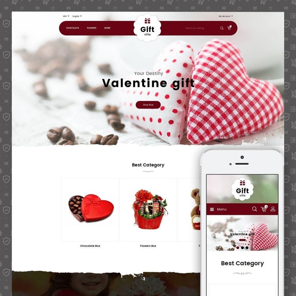 theme - Presentes, Flores & Comemorações - Gift Villa - 1
