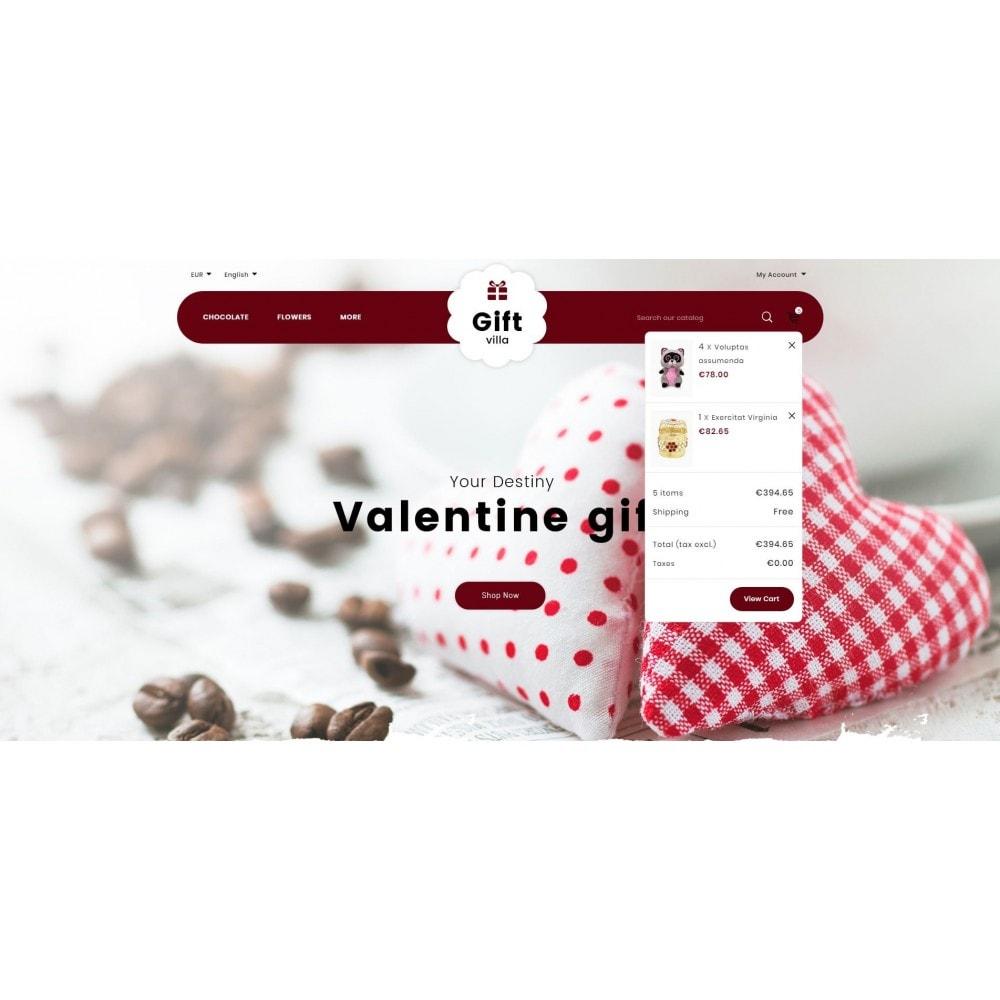 theme - Geschenke, Blumen & Feiern - Gift Villa - 8