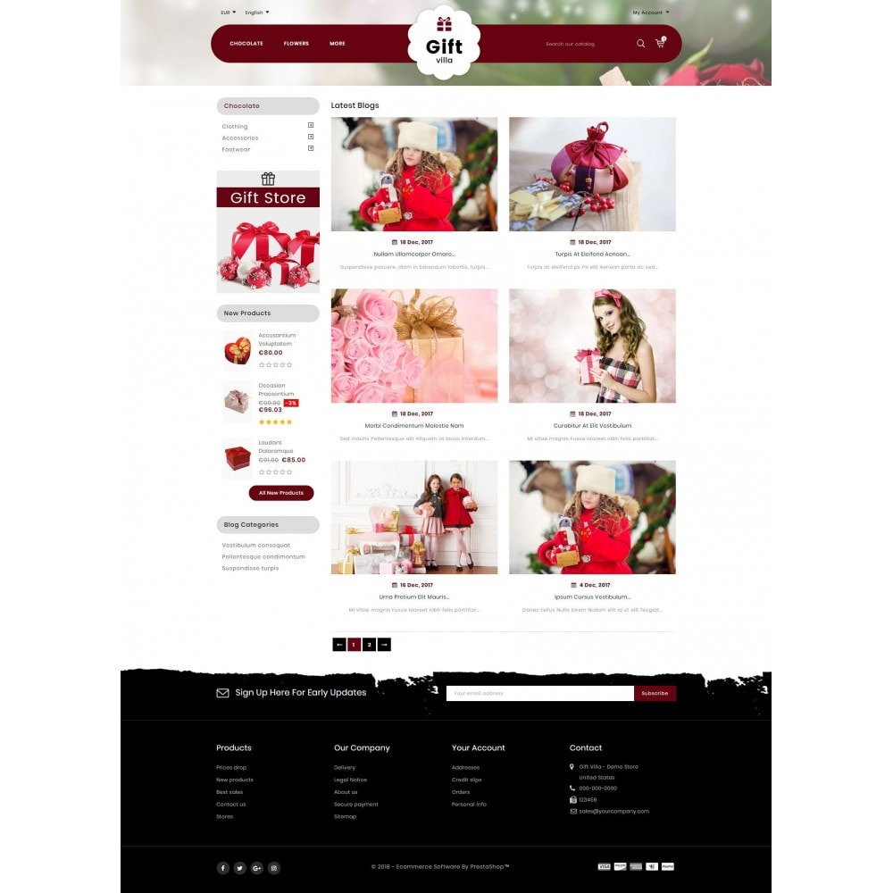 theme - Presentes, Flores & Comemorações - Gift Villa - 9
