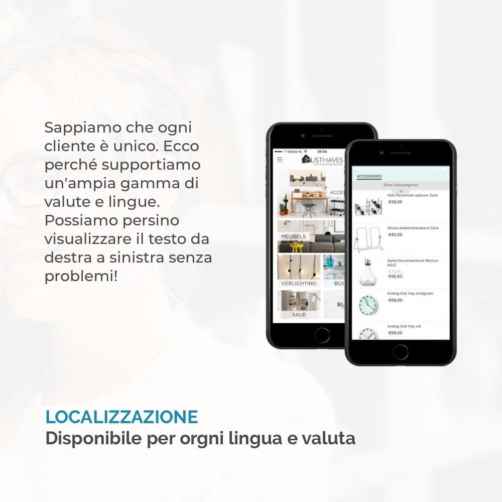 module - Dispositivi mobili - Costruttore App JMango360 - 10