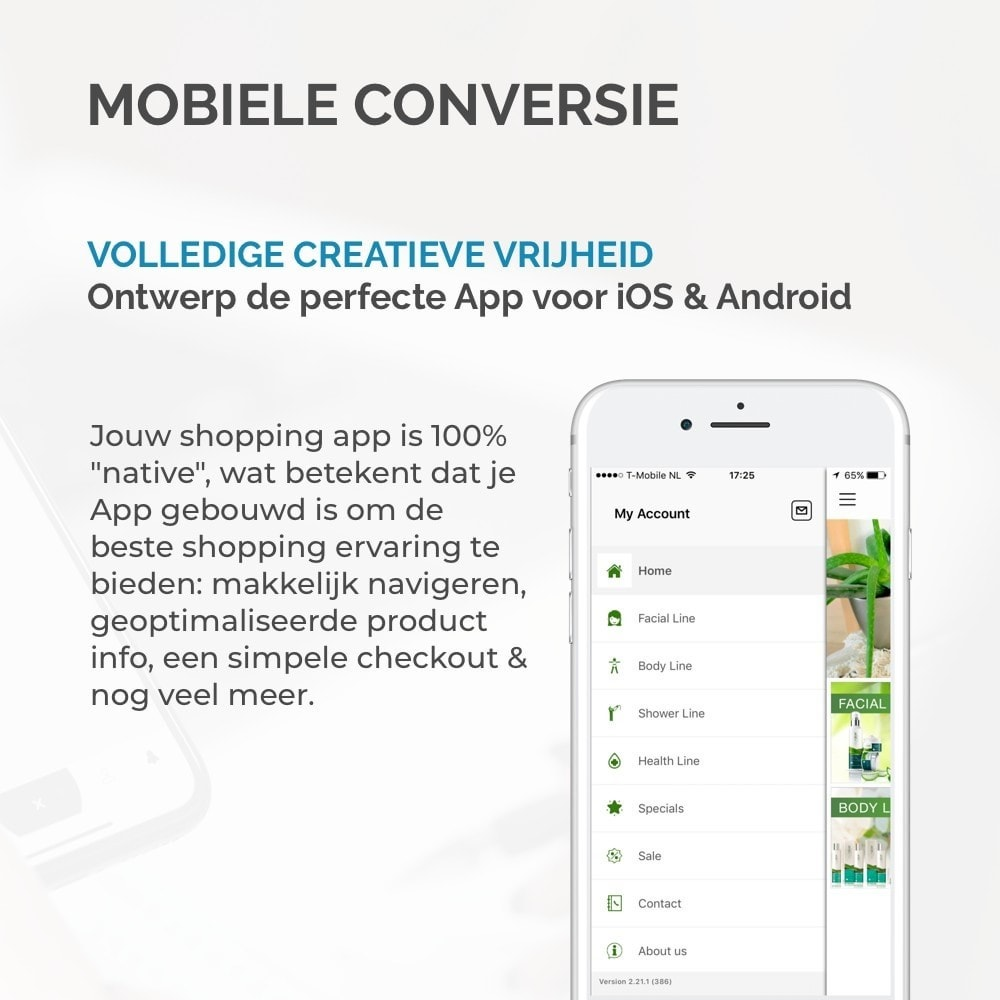module - Mobiele apparaten - JMango360 Mobile App builder - 8