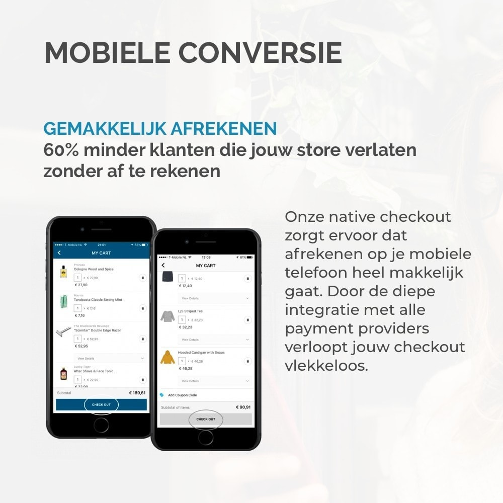 module - Mobiele apparaten - JMango360 Mobile App builder - 9