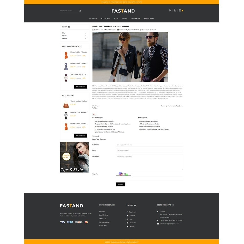 theme - Fashion & Shoes - Fastand Fashion Store - 6