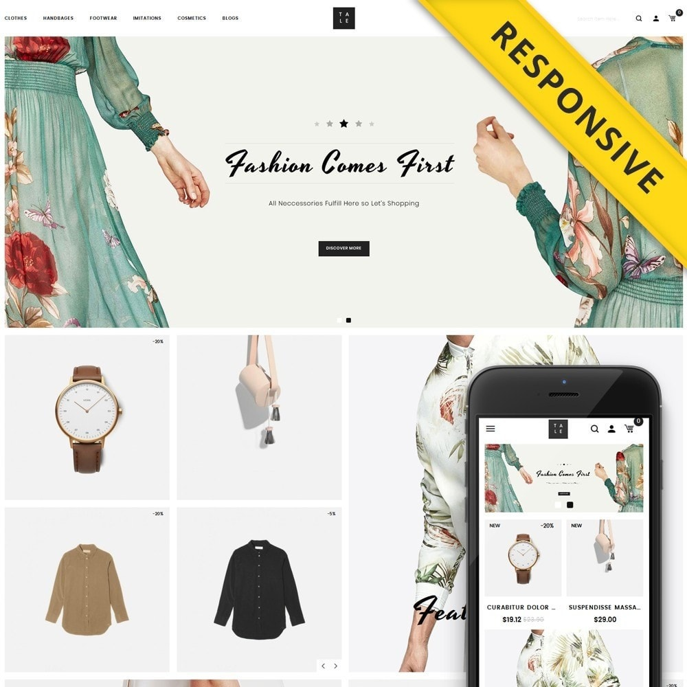 theme - Moda & Calzature - TALE - Fashion Store - 1