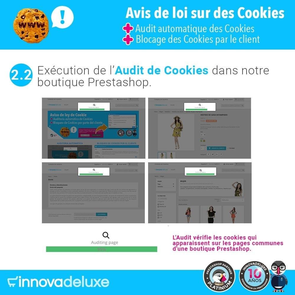 module - Législation - Loi des Cookies RGPD (Avi - Audit - Blocage) - 4