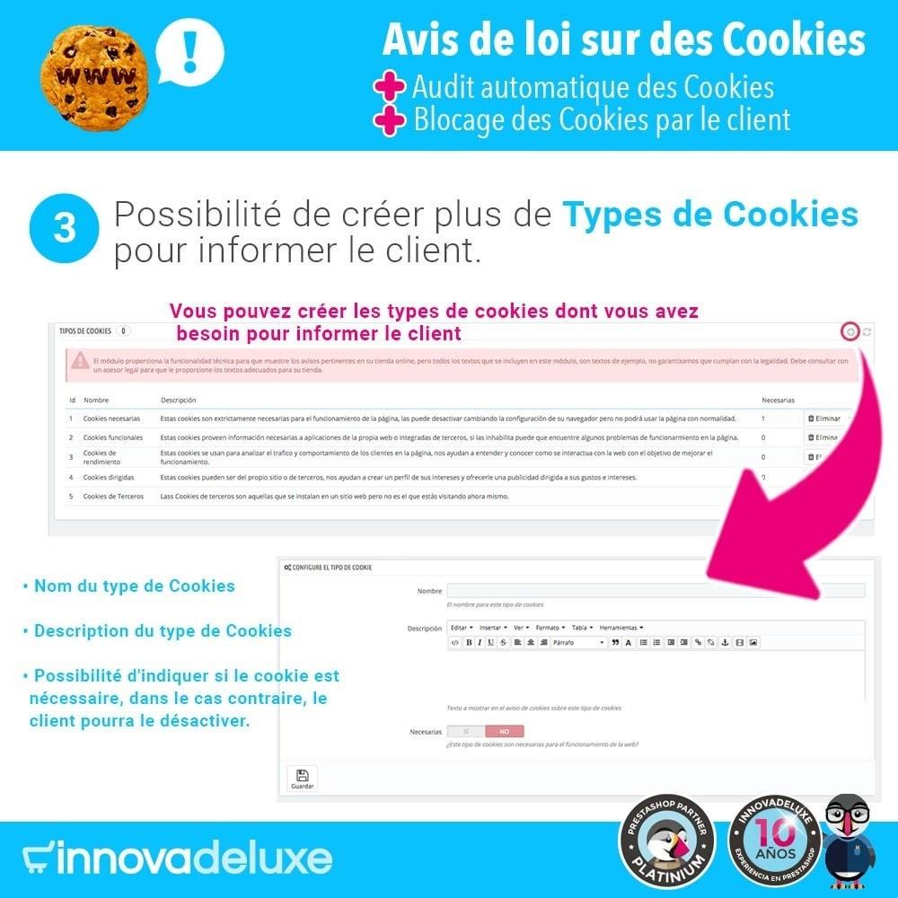 module - Législation - Loi des Cookies RGPD (Avi - Audit - Blocage) - 5