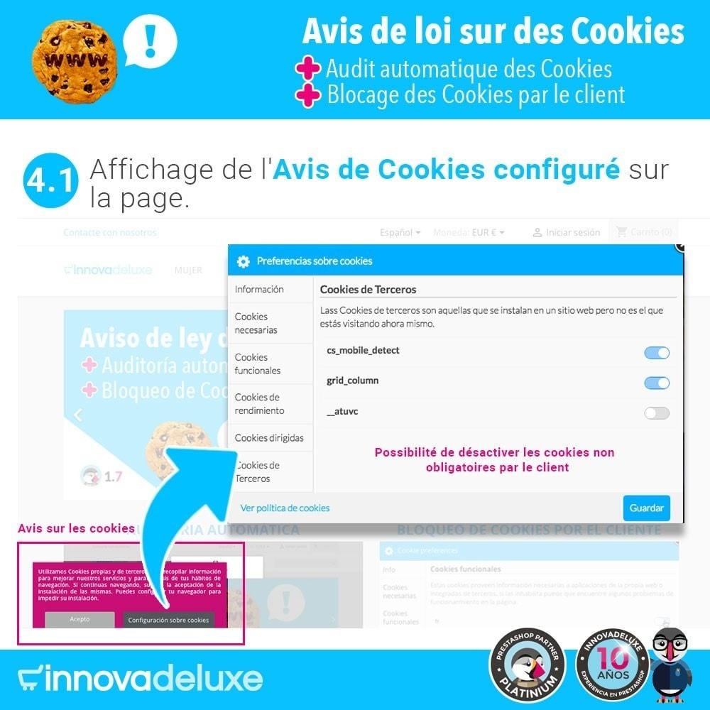 module - Législation - Loi des Cookies RGPD (Avi - Audit - Blocage) - 6