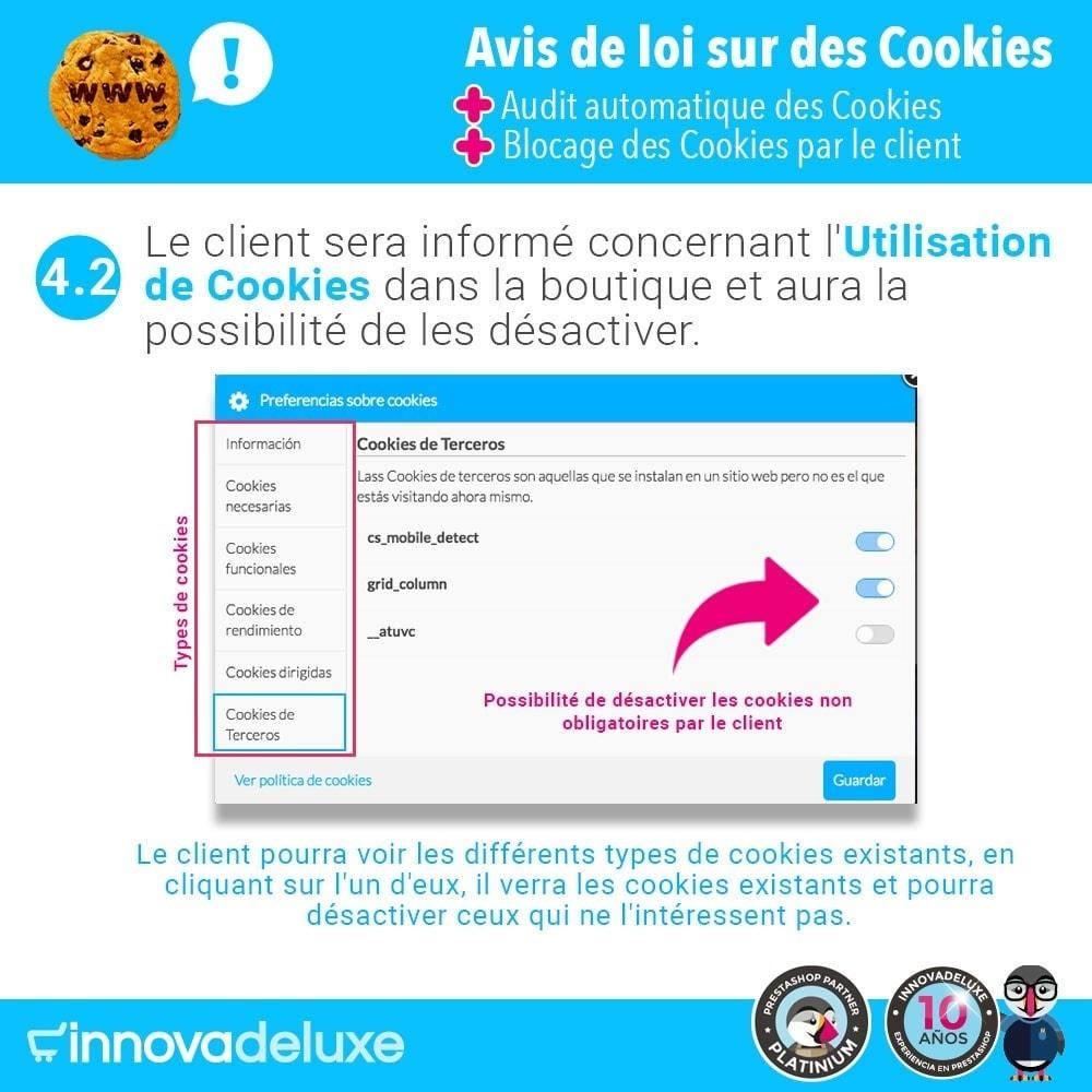 module - Législation - Loi des Cookies RGPD (Avi - Audit - Blocage) - 7