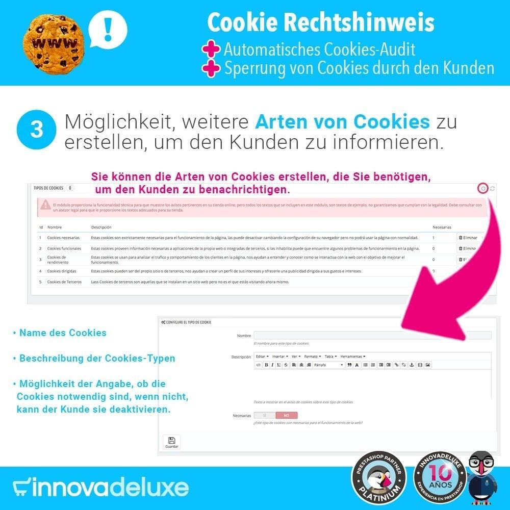 module - Rechtssicherheit - GDPR-Cookies-Gesetz (Hinweis - Audit - Sperrung) - 5