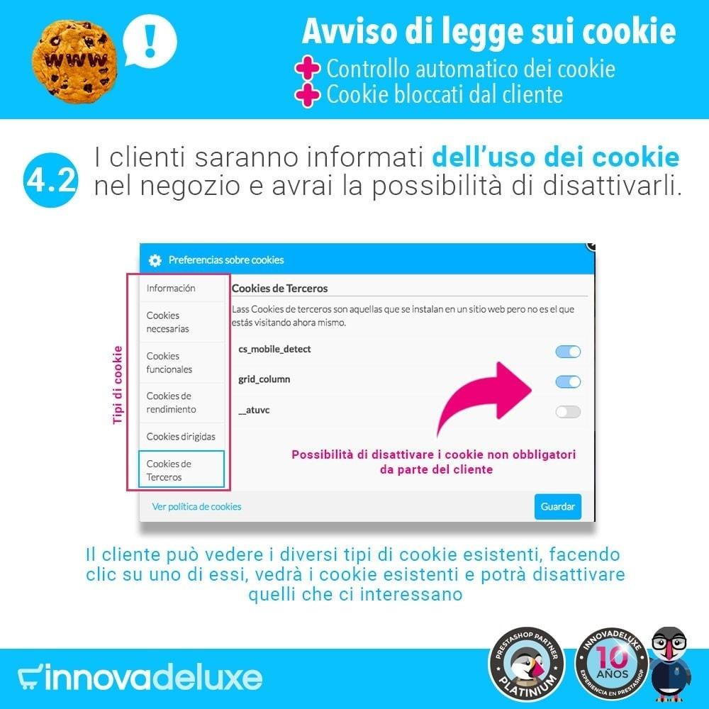 module - Legale (Legge Europea) - Legge sui cookie RGPD (Avviso - Controllo - Blocco) - 7