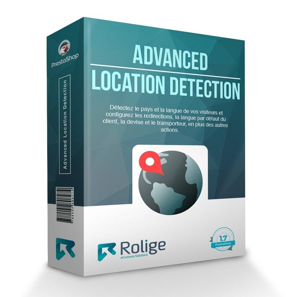 module - International & Localisation - Détection Avancée de L'emplacement - 1