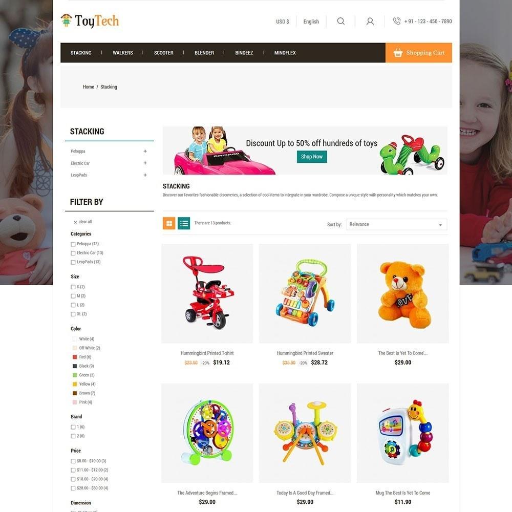 theme - Kids & Toys - Toytech Toy Store - 3