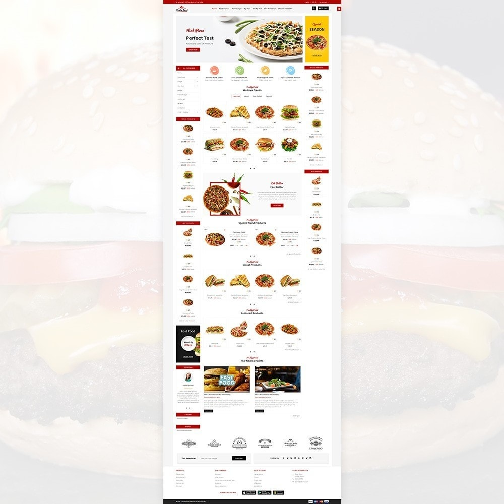 theme - Alimentation & Restauration - Tasty Fast – The Food and Drink Shop - 2