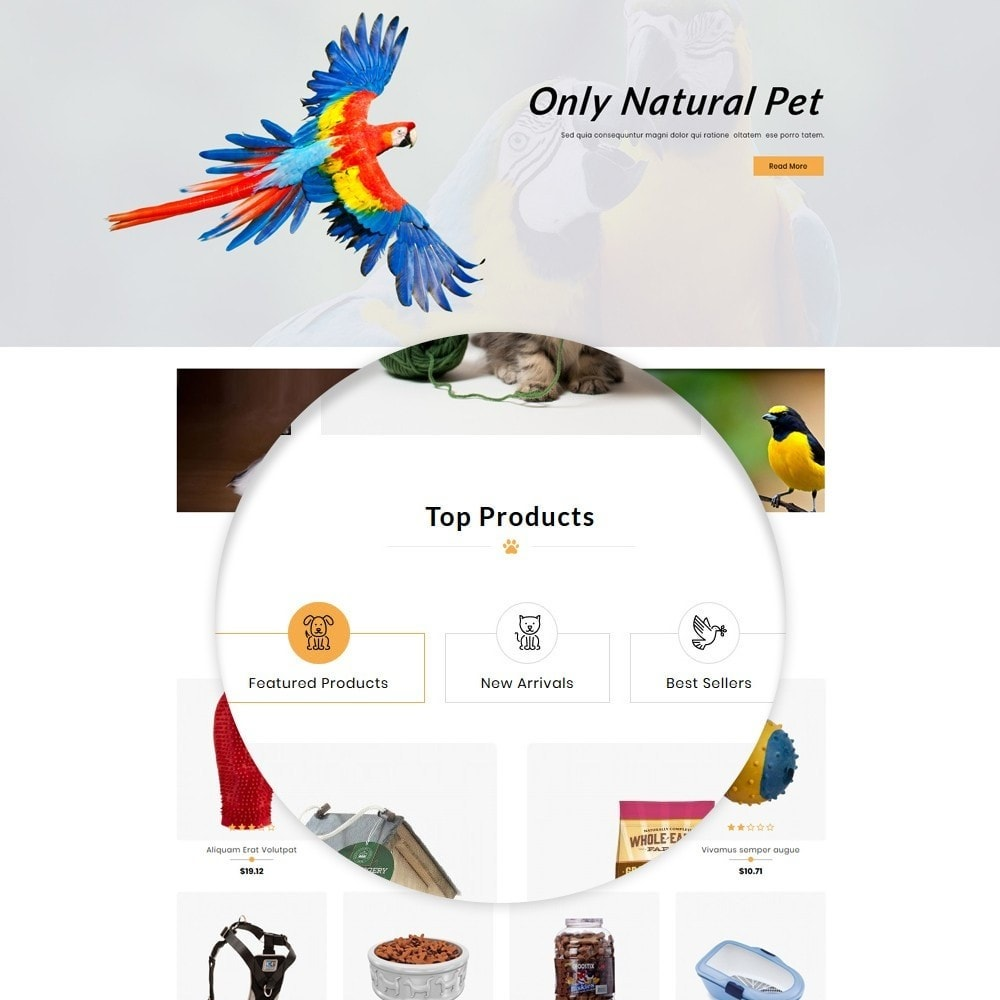 theme - Dieren - Pets Paleo - Pets Store - 7
