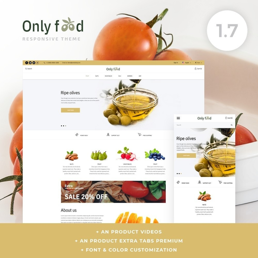 theme - Food & Restaurant - Only food - 1