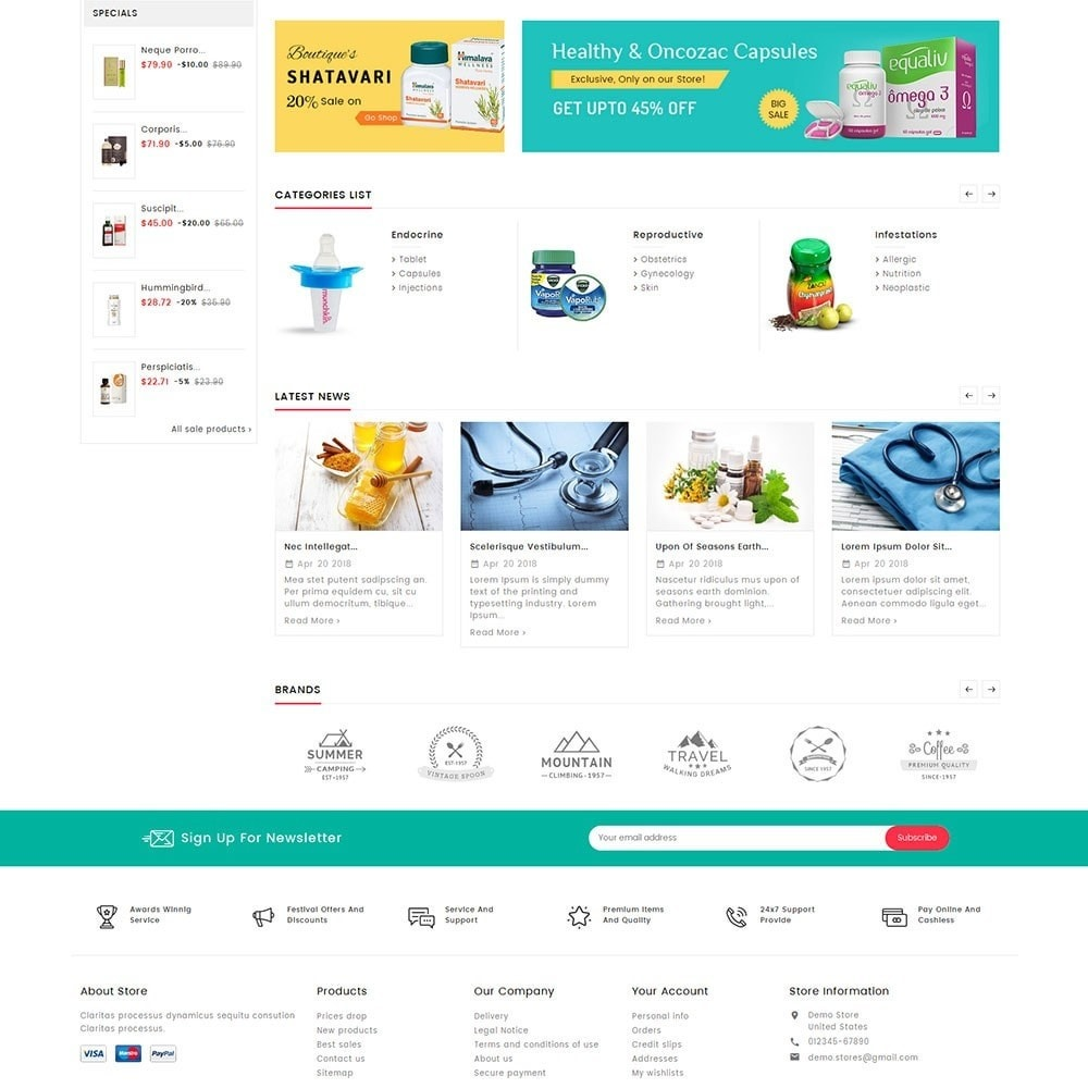 theme - Santé & Beauté - Mega Deals Medicine - 4