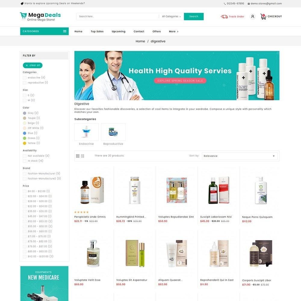 theme - Santé & Beauté - Mega Deals Medicine - 5
