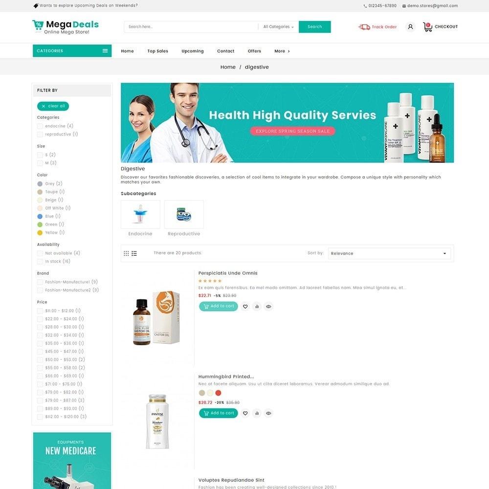 theme - Health & Beauty - Mega Deals Medicine - 6