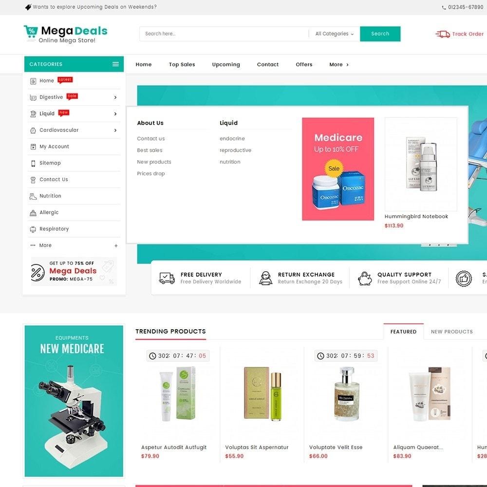 theme - Santé & Beauté - Mega Deals Medicine - 11