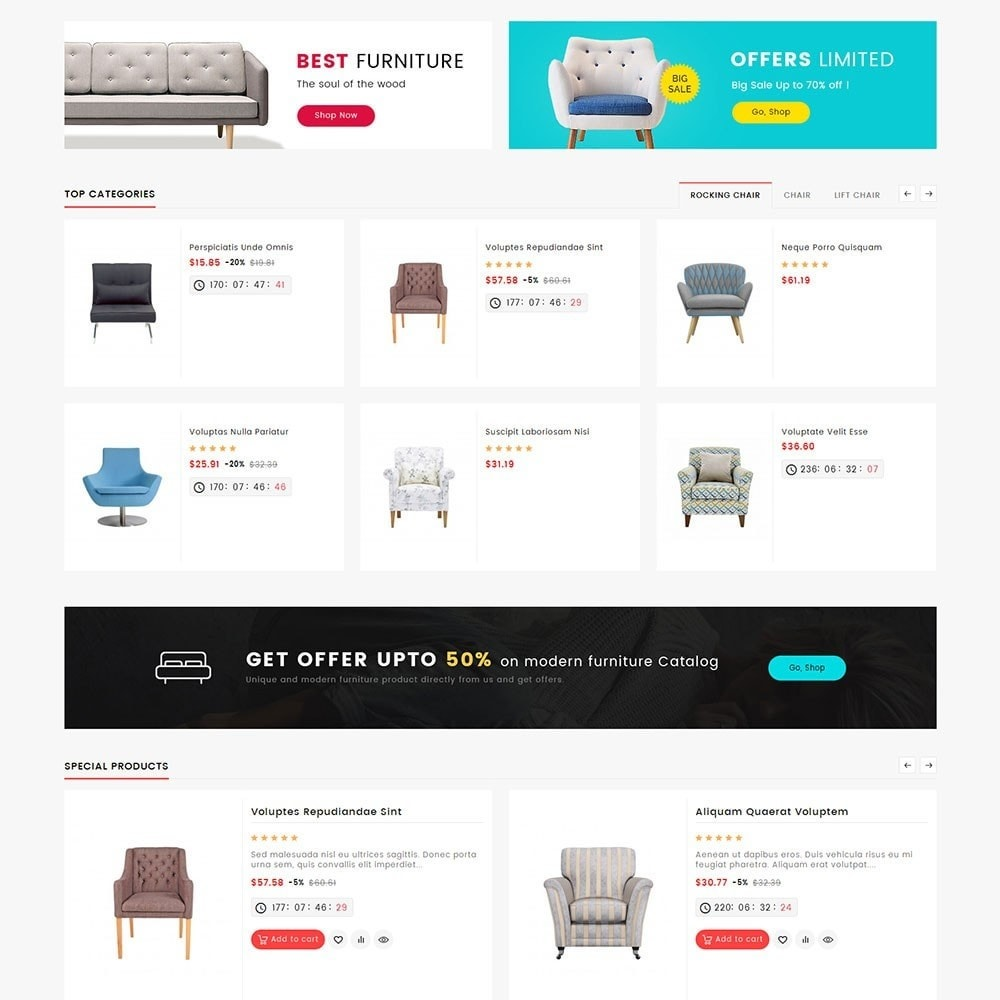 theme - Дом и сад - Mega Deals Home Decor - 3