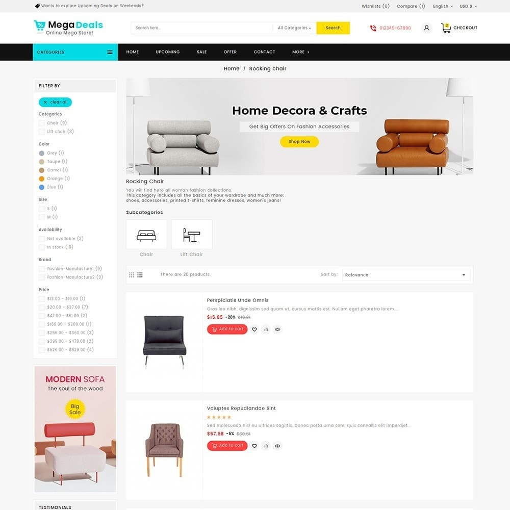 theme - Дом и сад - Mega Deals Home Decor - 6