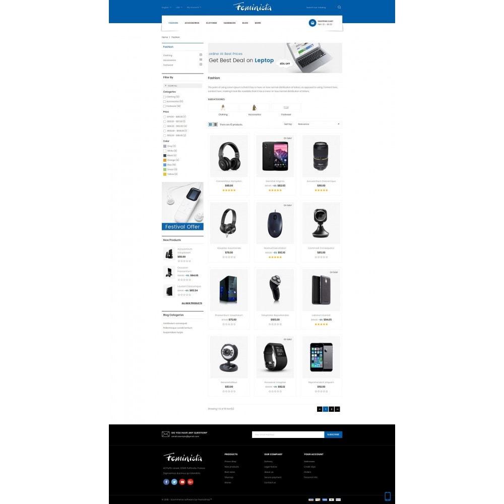 theme - Elektronika & High Tech - Feminista - Digital Store - 3