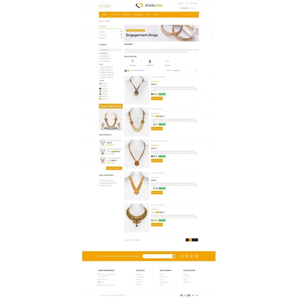 theme - Jewelry & Accessories - Jewelfox - Jewelry Store - 4