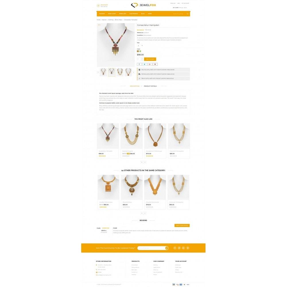 theme - Jewelry & Accessories - Jewelfox - Jewelry Store - 5