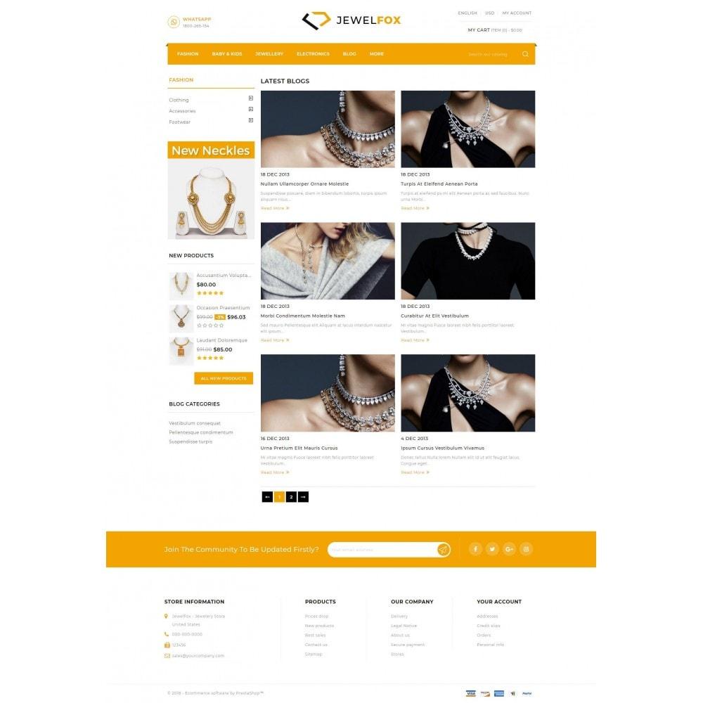 theme - Jewelry & Accessories - Jewelfox - Jewelry Store - 9