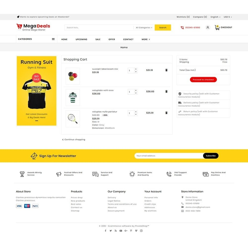 theme - Sport, Aktivitäten & Reise - Mega Sport Deals - 7