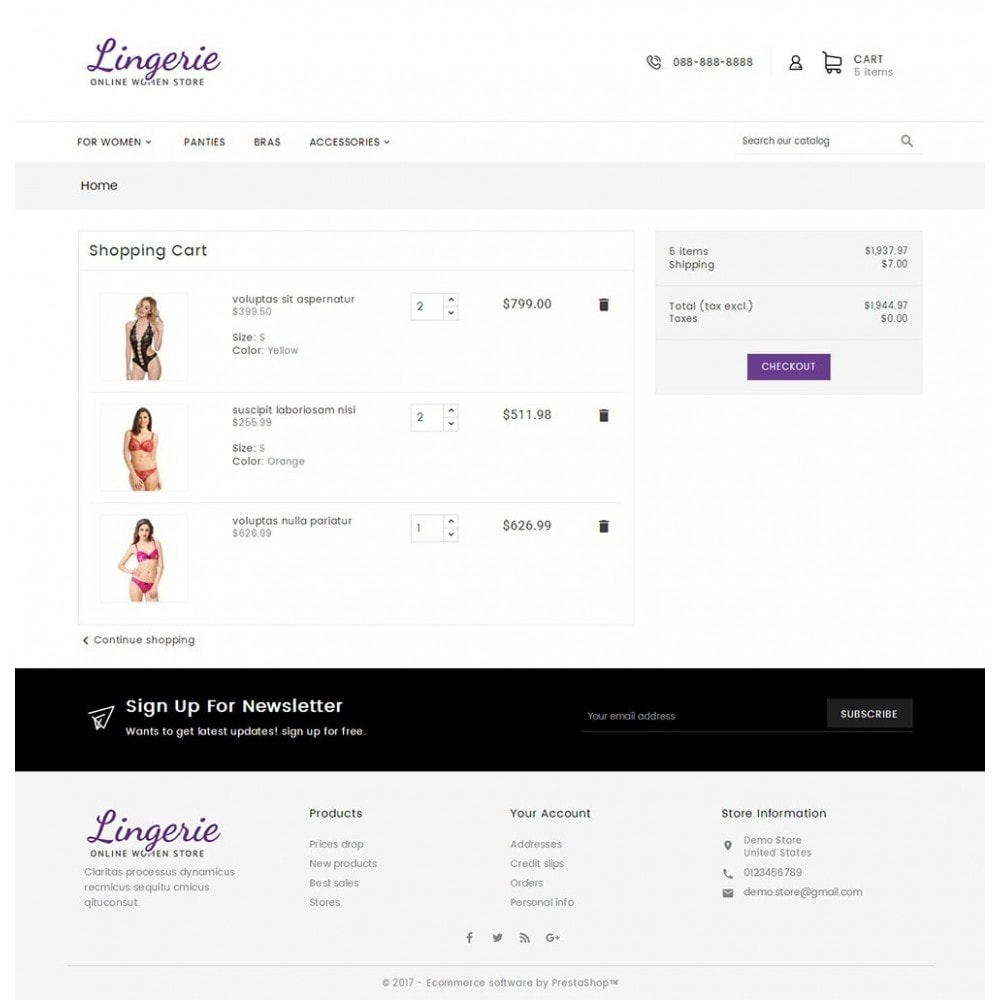 theme - Lingerie & Adult - Lingerie Women Shop - 8