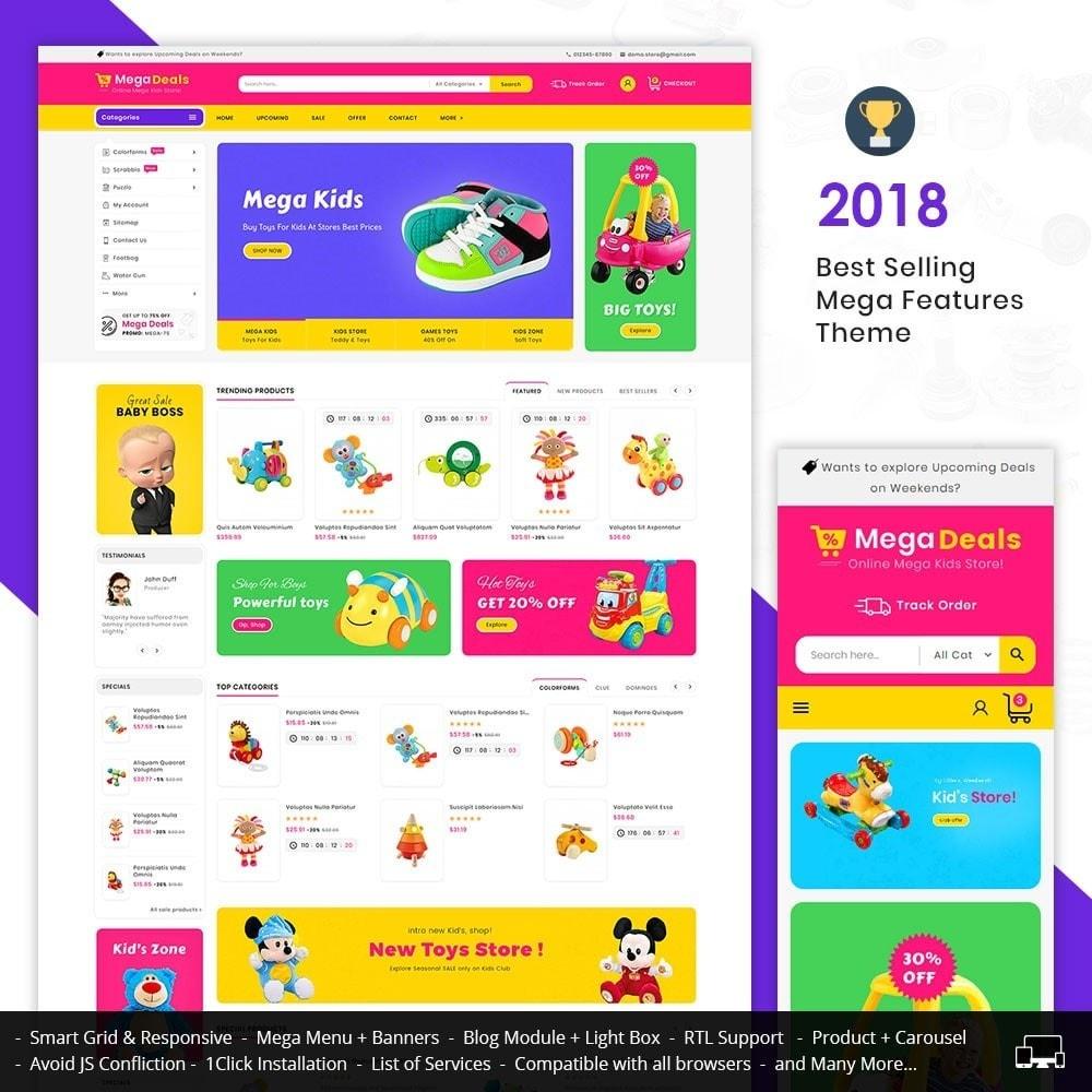 theme - Crianças & Brinquedos - Mega Deals Kid Toys - 1