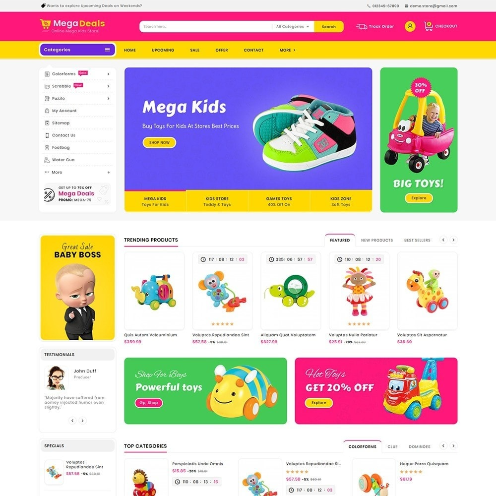 theme - Kids & Toys - Mega Deals Kid Toys - 2