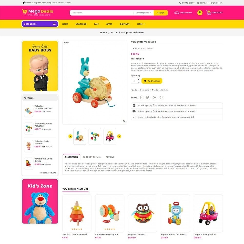 theme - Kids & Toys - Mega Deals Kid Toys - 6