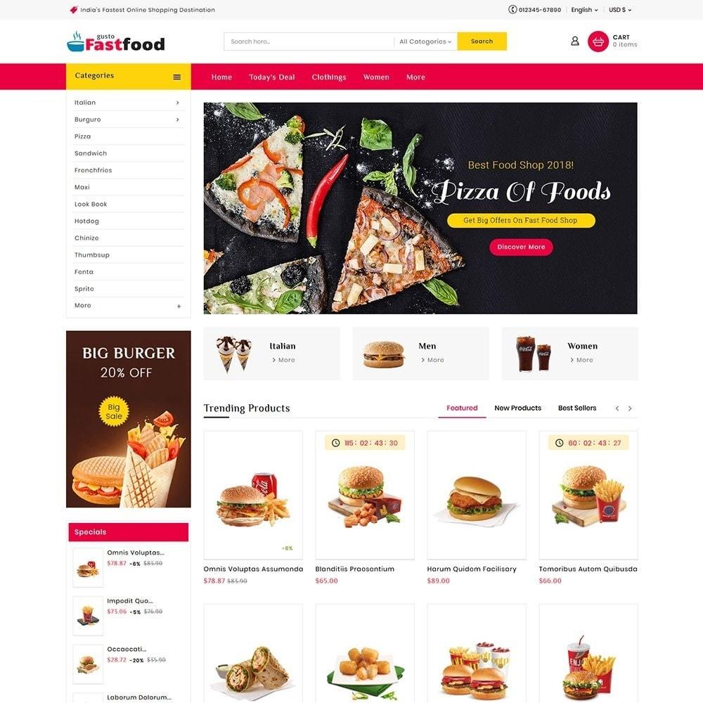 theme - Food & Restaurant - Fast Food Corner - 2