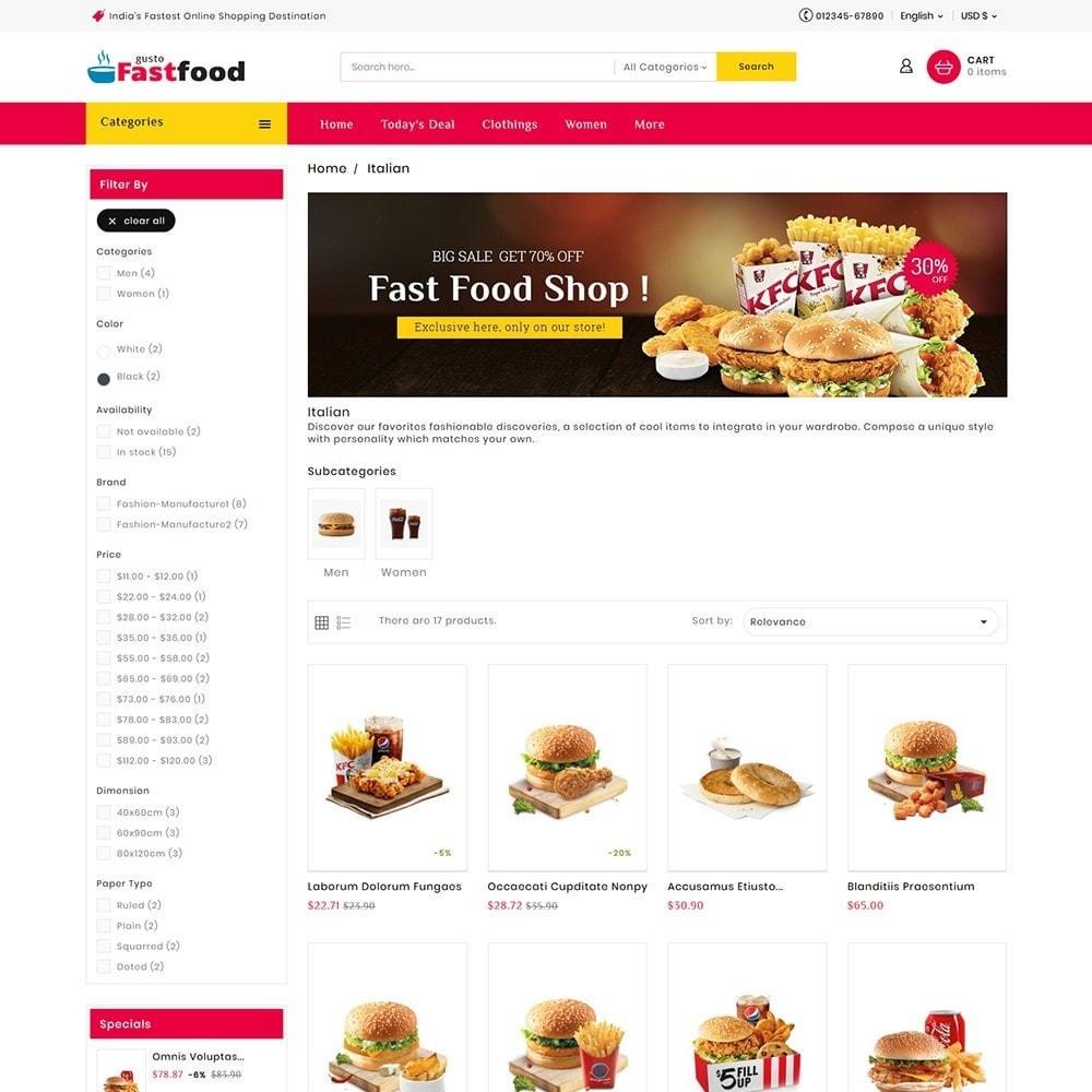 theme - Food & Restaurant - Fast Food Corner - 4