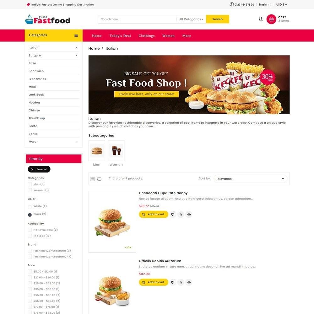 theme - Food & Restaurant - Fast Food Corner - 5