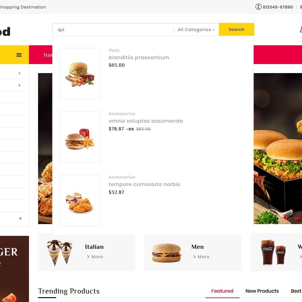 theme - Food & Restaurant - Fast Food Corner - 10