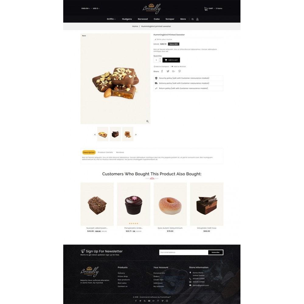 theme - Food & Restaurant - Breadly - Bakery & Cakes - 7