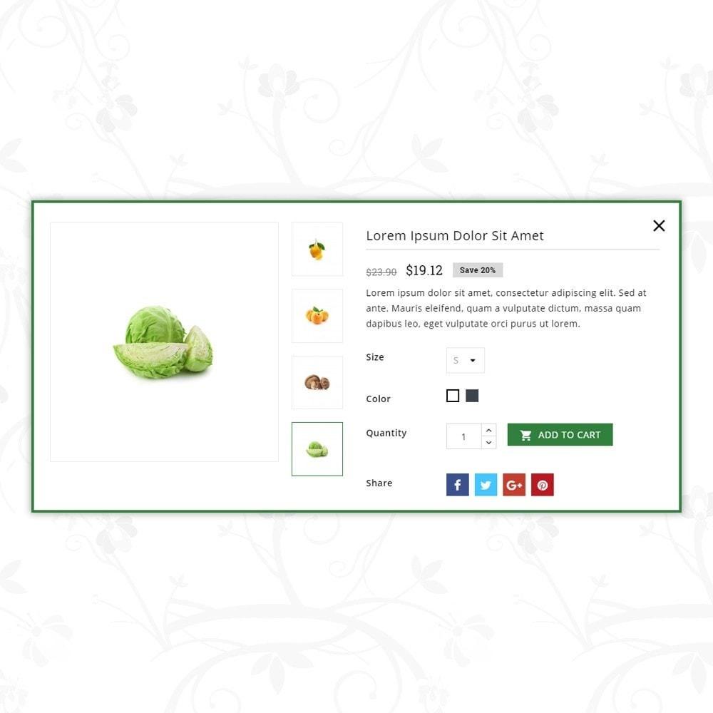 theme - Food & Restaurant - Vegetable Shrub - Organic Store - 7