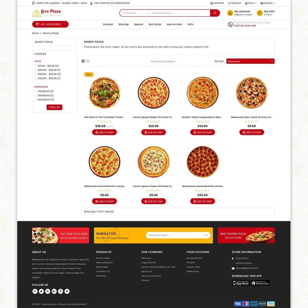 theme - Eten & Restaurant - Live Pizza - Fast And Fresh Restaurant - 4