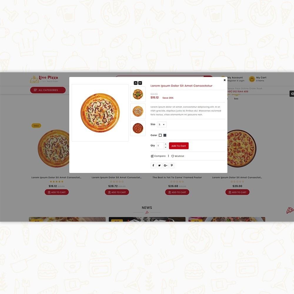 theme - Alimentation & Restauration - Live Pizza - Fast And Fresh Restaurant - 7