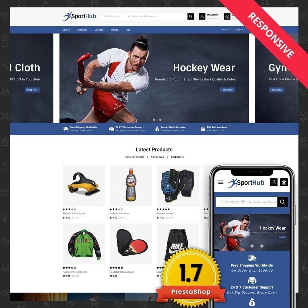 theme - Sports, Activities & Travel - Sport Hub Sports Store - 1