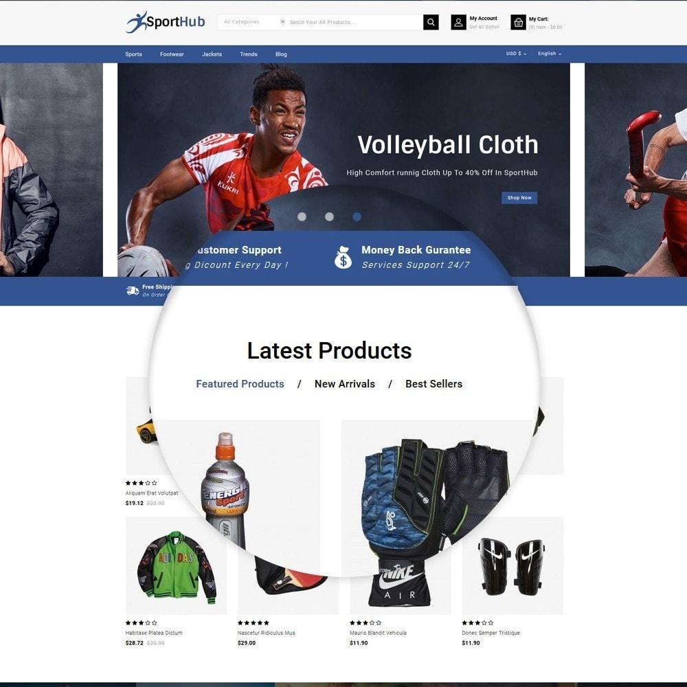 theme - Sports, Activities & Travel - Sport Hub Sports Store - 6